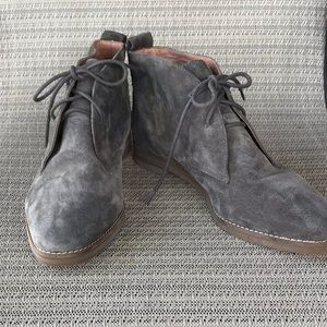 NWOT Madewell Nash Lace Up Desert Boot Leather